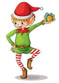 Little elf — Stock Vector