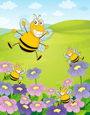 Mr bee — Stock Vector