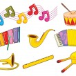 Instruments - Stock Vector