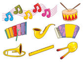 Instruments — Stock Vector