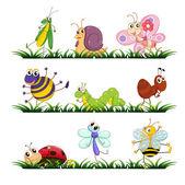 Insecten — Stockvector