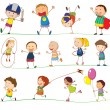 Simple kids — Stock Vector #11007990