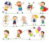 Simples enfants — Vecteur