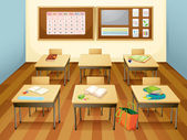 Classroom — Stock Vector
