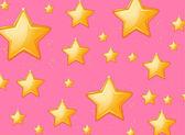 Blinkande stjärnor — Stockvektor