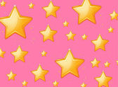 Flonkerende sterren — Stockvector