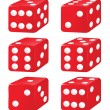 Dice — Stock Vector