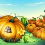 Pumpkins — Stock Vector #11587468