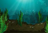 Underwater — Stock Vector