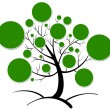 Tree clipart — Stockvectorbeeld