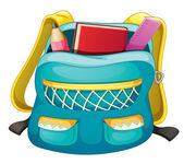 School bag — Stock Vector