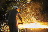 Industrial worker — Stock Photo
