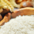 Harvesting rice — Stock Photo