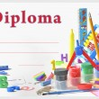 Preschool diploma — Stock Photo #11234987