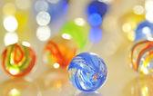 玻璃球 — 图库照片