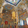 Interior of the orthodox Church — Stock Photo
