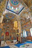 Interieur van de orthodoxe kerk — Stockfoto