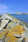 The lighthouse in howth near dublin, ireland — Stock Photo