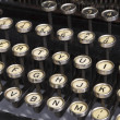 Stock Photo: Detail of Old Typewriter