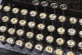 Detail of Old Typewriter — Stock Photo