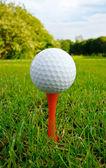 Мяч для гольфа — Стоковое фото