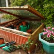 Gardeners cold frame — Stock Photo #11718467