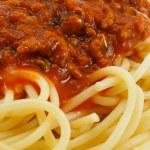 Spaghetti Bolognese — Stock Photo #12001262