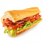 Постер, плакат: BLT Sandwich Baguette
