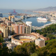 Stock Photo: Malaga, Spain – Panoramic view of city