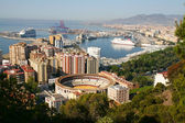 Malaga, Spain – Panoramic view of the city — Stock Photo