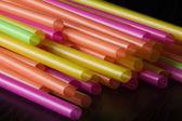 Plastic straws — Stock Photo