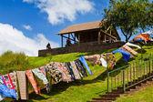 Washing line — Stock Photo