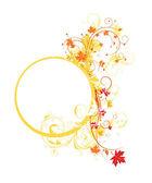 Kolorowy kwiatowy ramki — Wektor stockowy