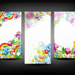 Colorful banners set — Stock Vector #10803004