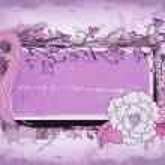 Grunge floral frame — Stock Vector #10827427