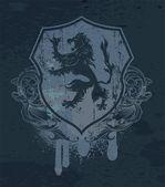 Vintage grunge emblem — Stockvektor