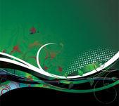 абстрактный цветочный фон — Cтоковый вектор