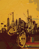 Cartaz de música — Vetor de Stock