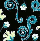 Ročník květinové pozadí — Stock vektor