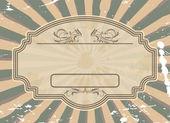 Grunge label — Stock Vector