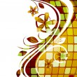 Abstract floral background - Imagen vectorial