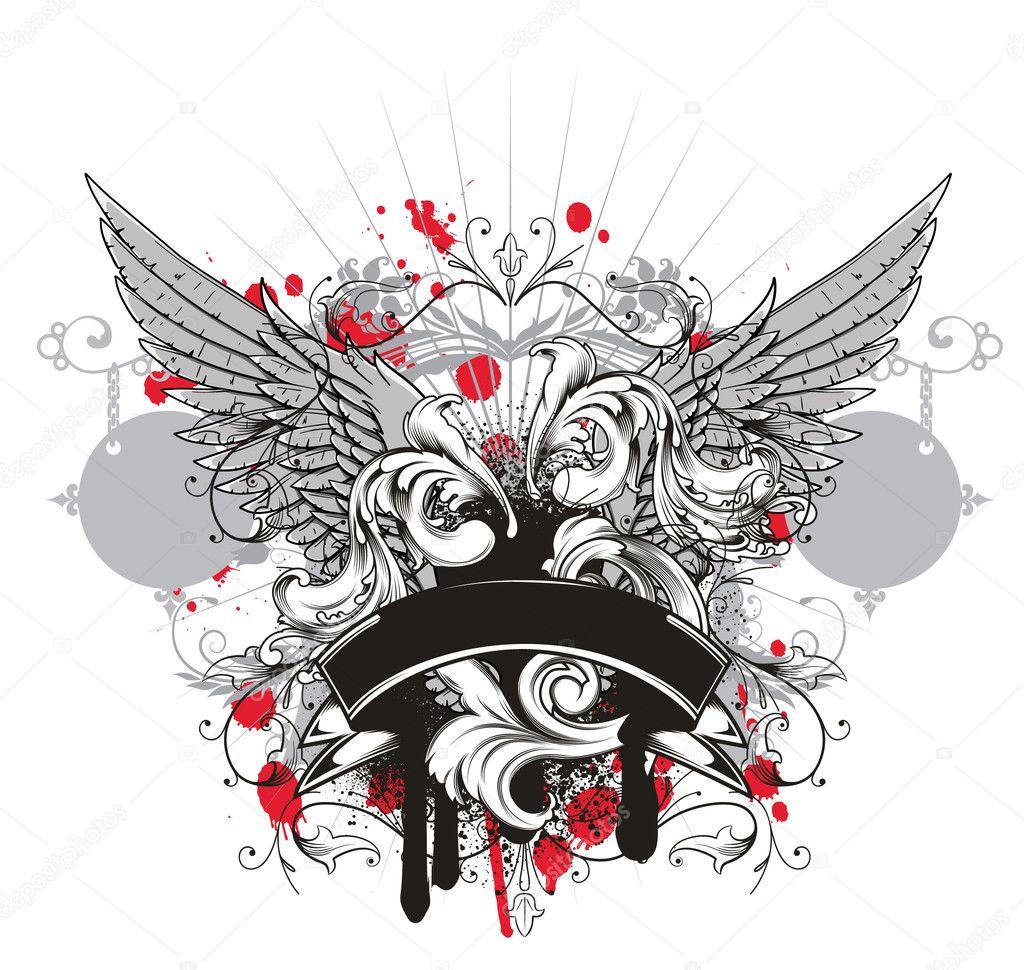 T shirt design download - Grunge T Shirt Design Vector Illustration Vector By Designious