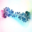 Stok Vektör: Abstract swirls background