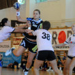 Siofok - Hypo NO handball game — Stock Photo