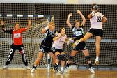 Siofok - Hypo NO handball game — Stock Photo