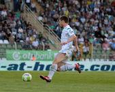 Kaposvar - Zalaegerszeg soccer game — Photo