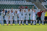 Kaposvar - paks bajo 19 juego de futbol — Foto de Stock