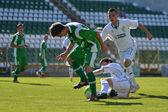 Kaposvar - Paks under 19 soccer game — Stock Photo