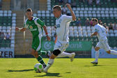 Kaposvar - Paks under 19 soccer game — Stock Photo