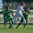 Kaposvar - Paks under 19 soccer game - Stock Photo